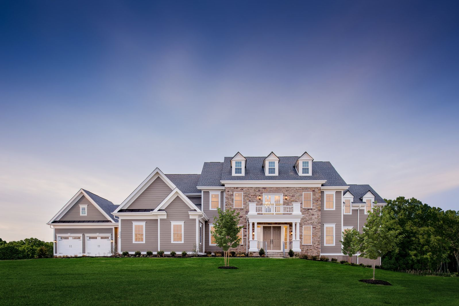 Exterior featured in the Monticello II By NVHomes in Washington, VA
