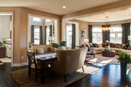 Greatroom-and-Dining-in-Monticello II-at-Stonebridge at Bull Run Winery-in-Centreville