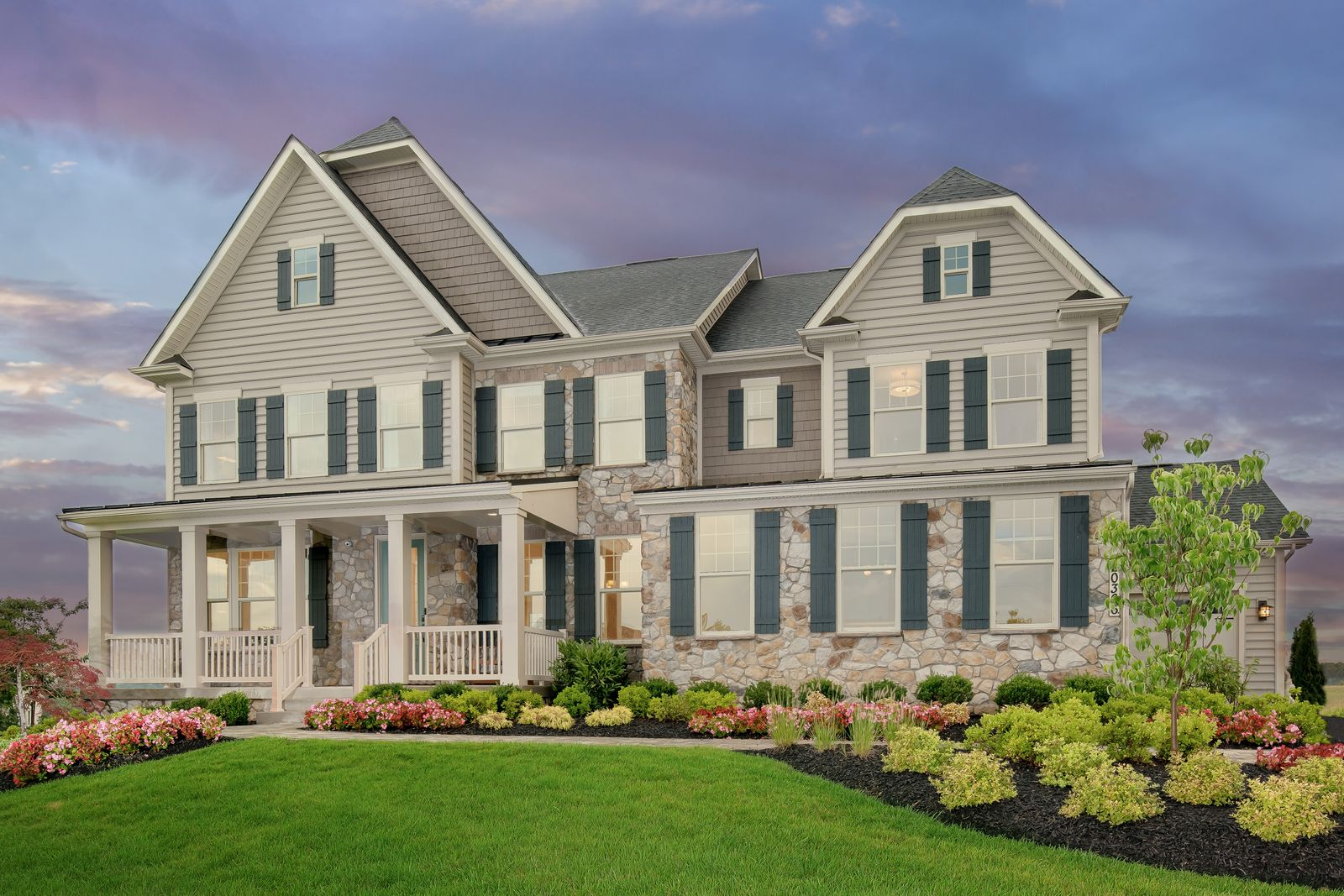 Exterior featured in the Marymount By NVHomes in Washington, VA