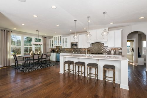 Kitchen-in-Olsen-at-The Bluffs at Falling Water Single Family Homes-in-Morgantown