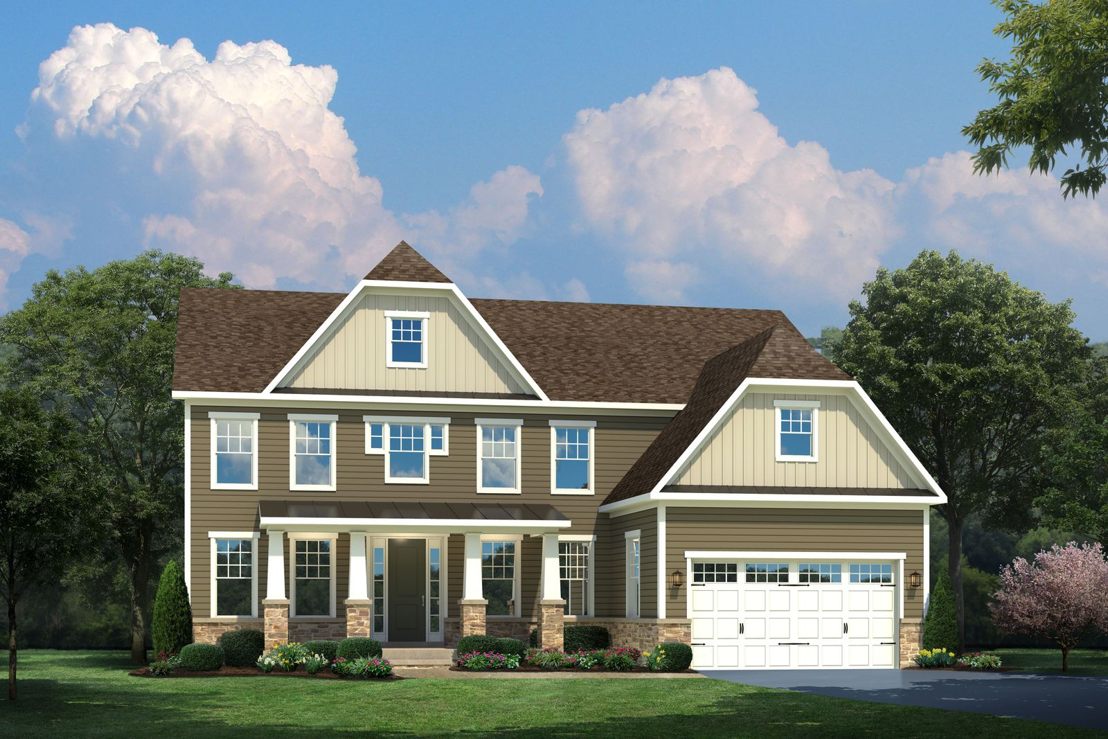 Exterior featured in the Radford By HeartlandHomes in Morgantown, WV