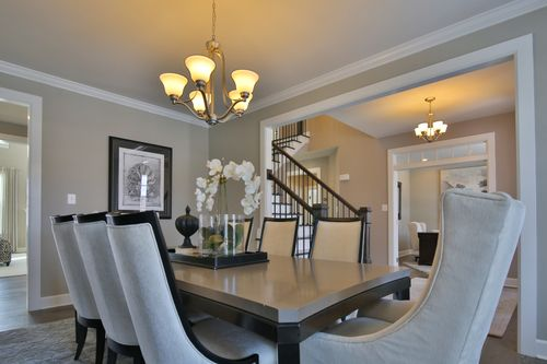 Dining-in-Radford-at-The Bluffs at Falling Water Single Family Homes-in-Morgantown