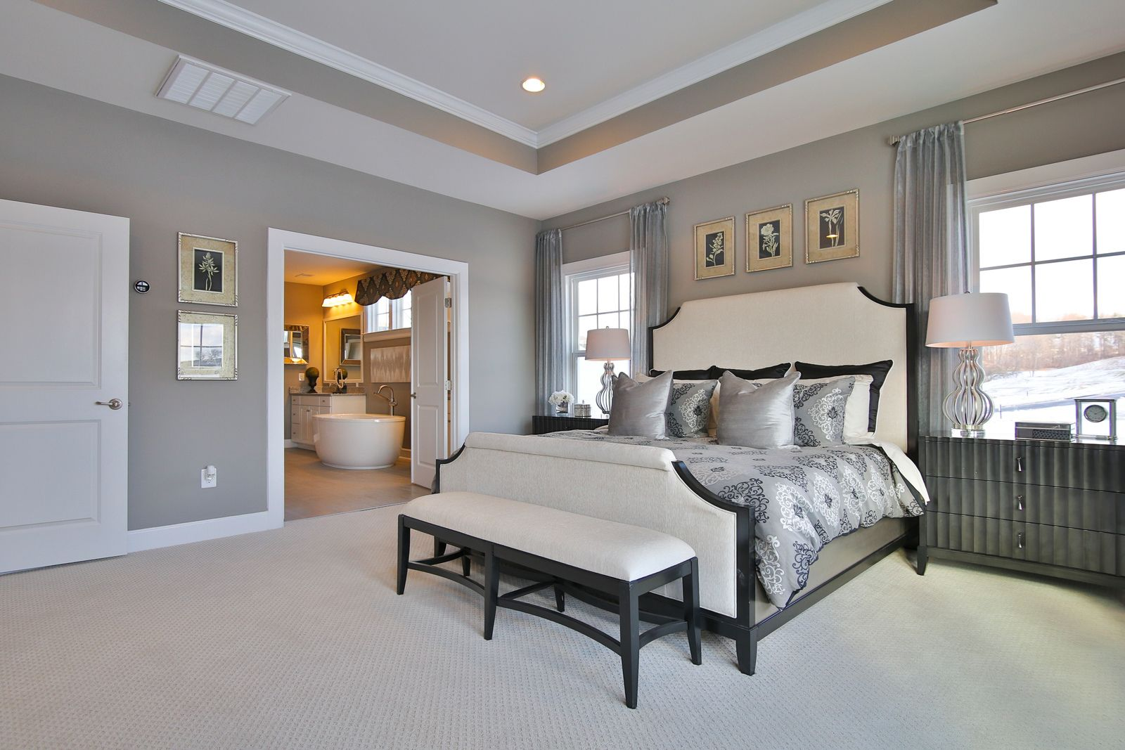 Bedroom-in-Radford-at-The Bluffs at Falling Water Single Family Homes-in-Morgantown