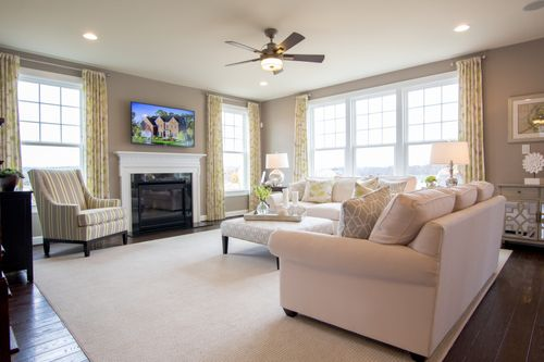 Greatroom-in-Marymount-at-The Bluffs at Falling Water Single Family Homes-in-Morgantown