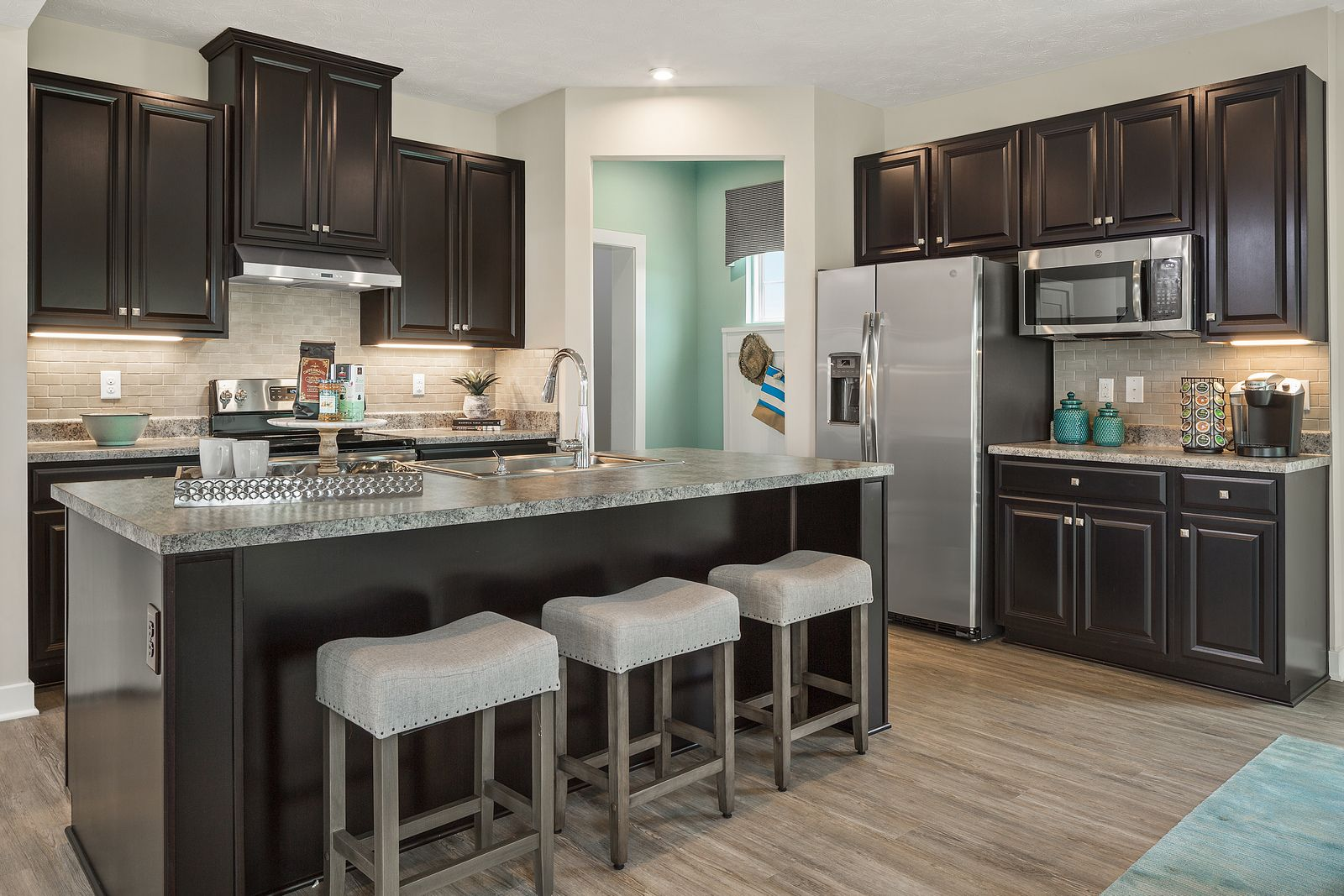 Kitchen featured in the Allegheny By HeartlandHomes in Morgantown, WV