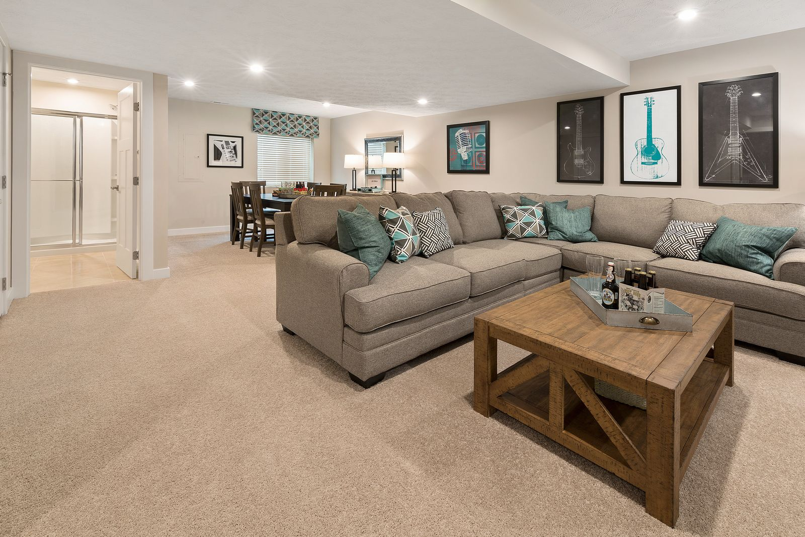 Living Area featured in the Allegheny By HeartlandHomes in Morgantown, WV