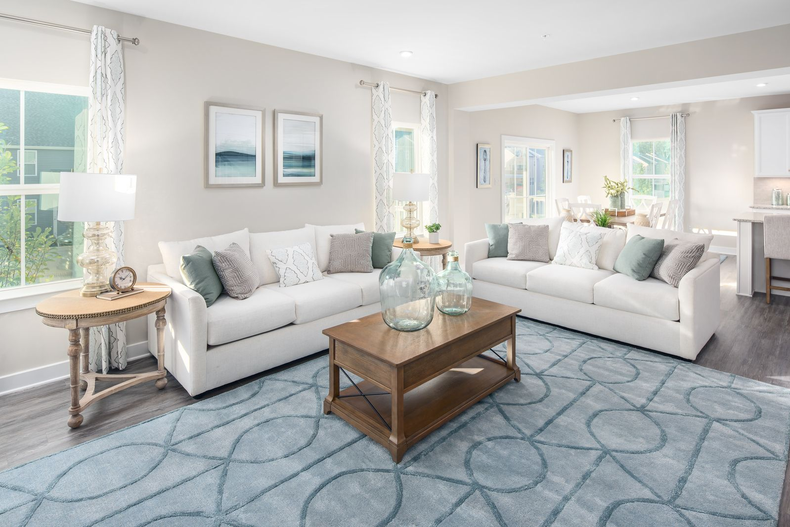 Living Area featured in the Ballenger By HeartlandHomes in Morgantown, WV
