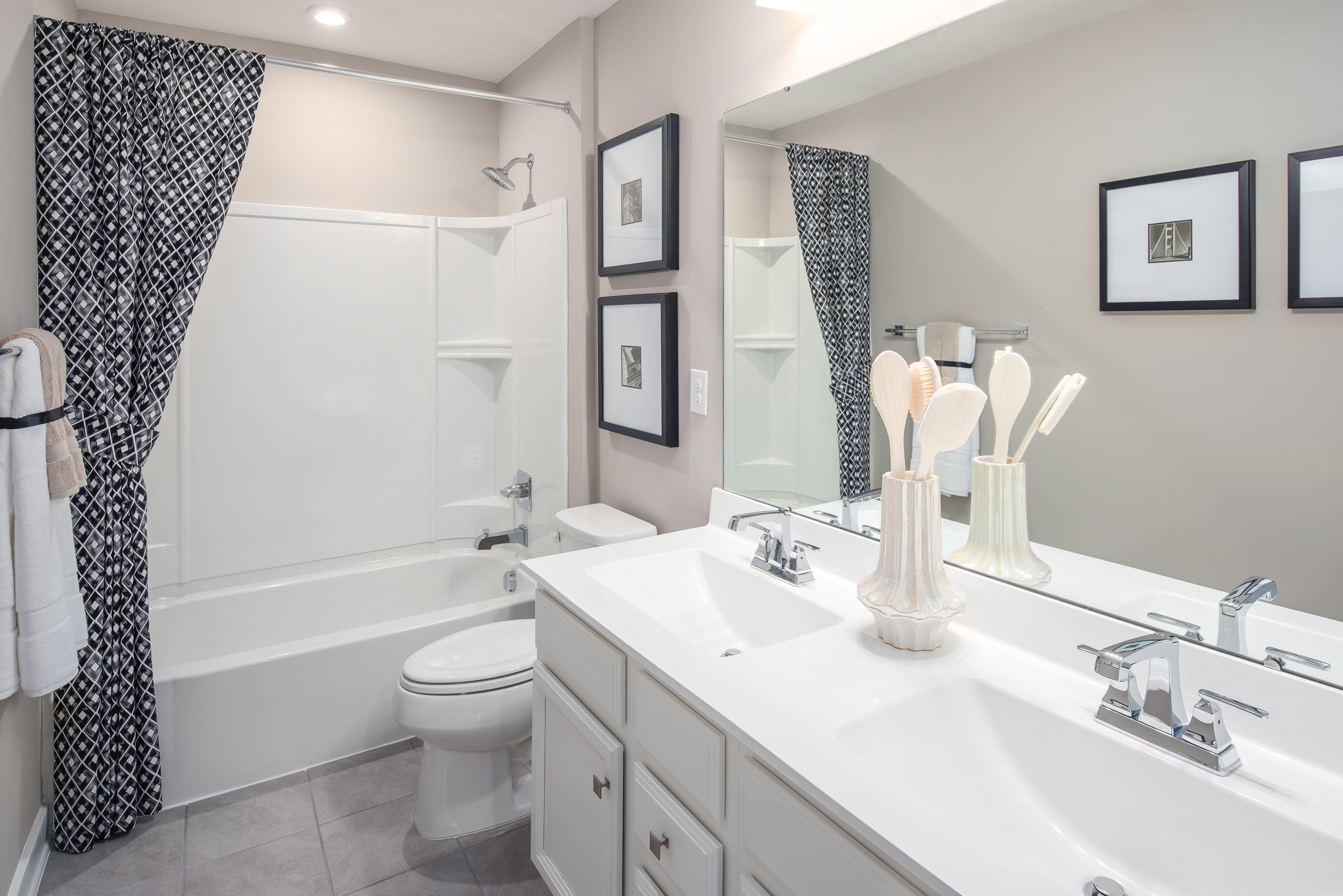 Bathroom featured in the Hudson By HeartlandHomes in Morgantown, WV