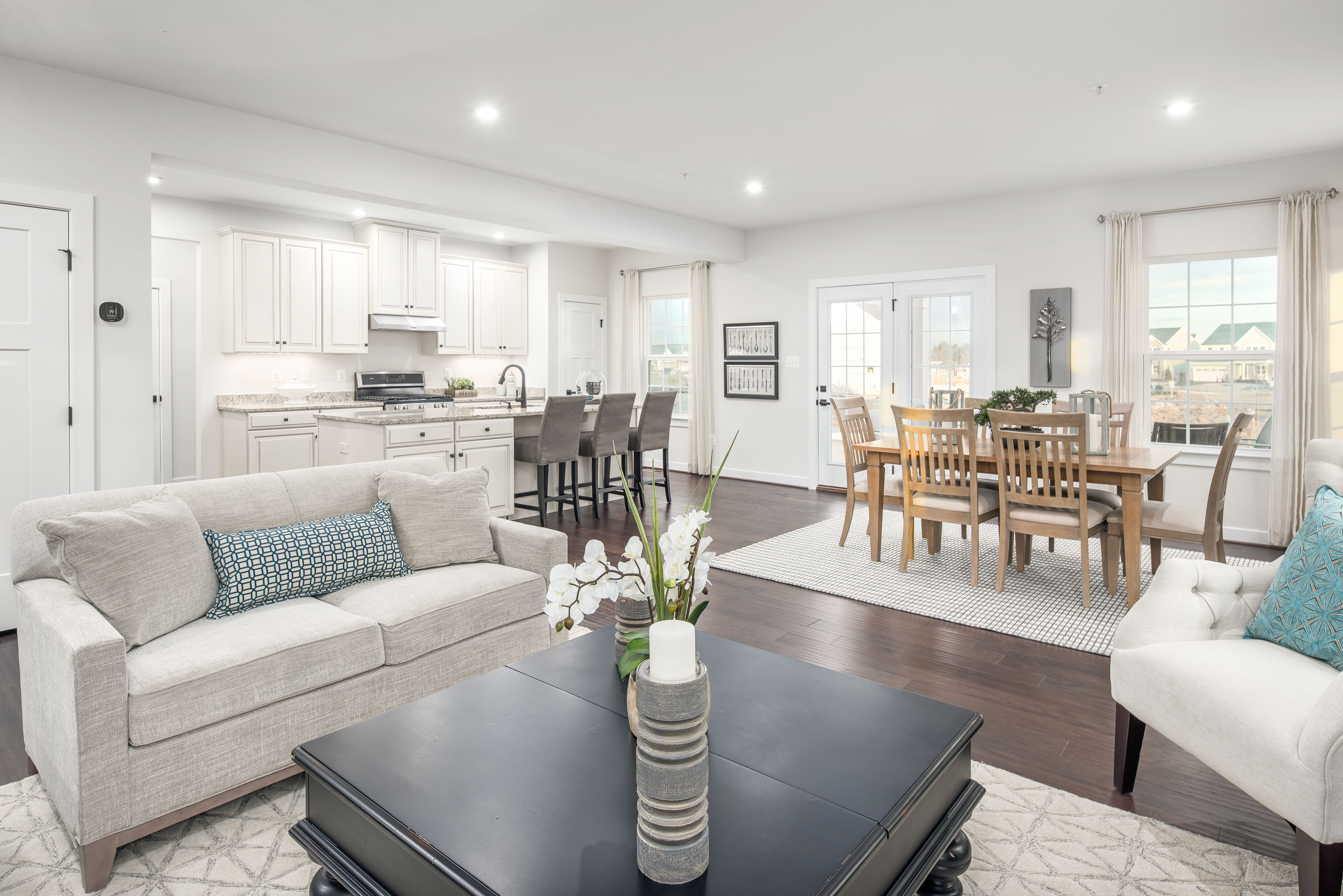 Living Area featured in the Hudson By HeartlandHomes in Morgantown, WV