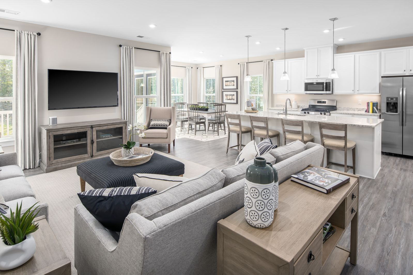 Living Area featured in the Genoa By Ryan Homes in Greenville-Spartanburg, SC
