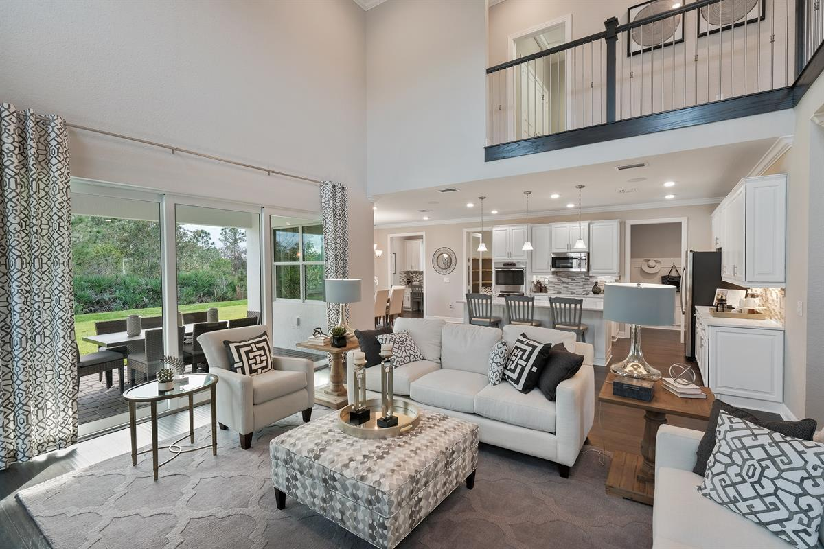 Living Area featured in the Barkley By Ryan Homes in Martin-St. Lucie-Okeechobee Counties, FL