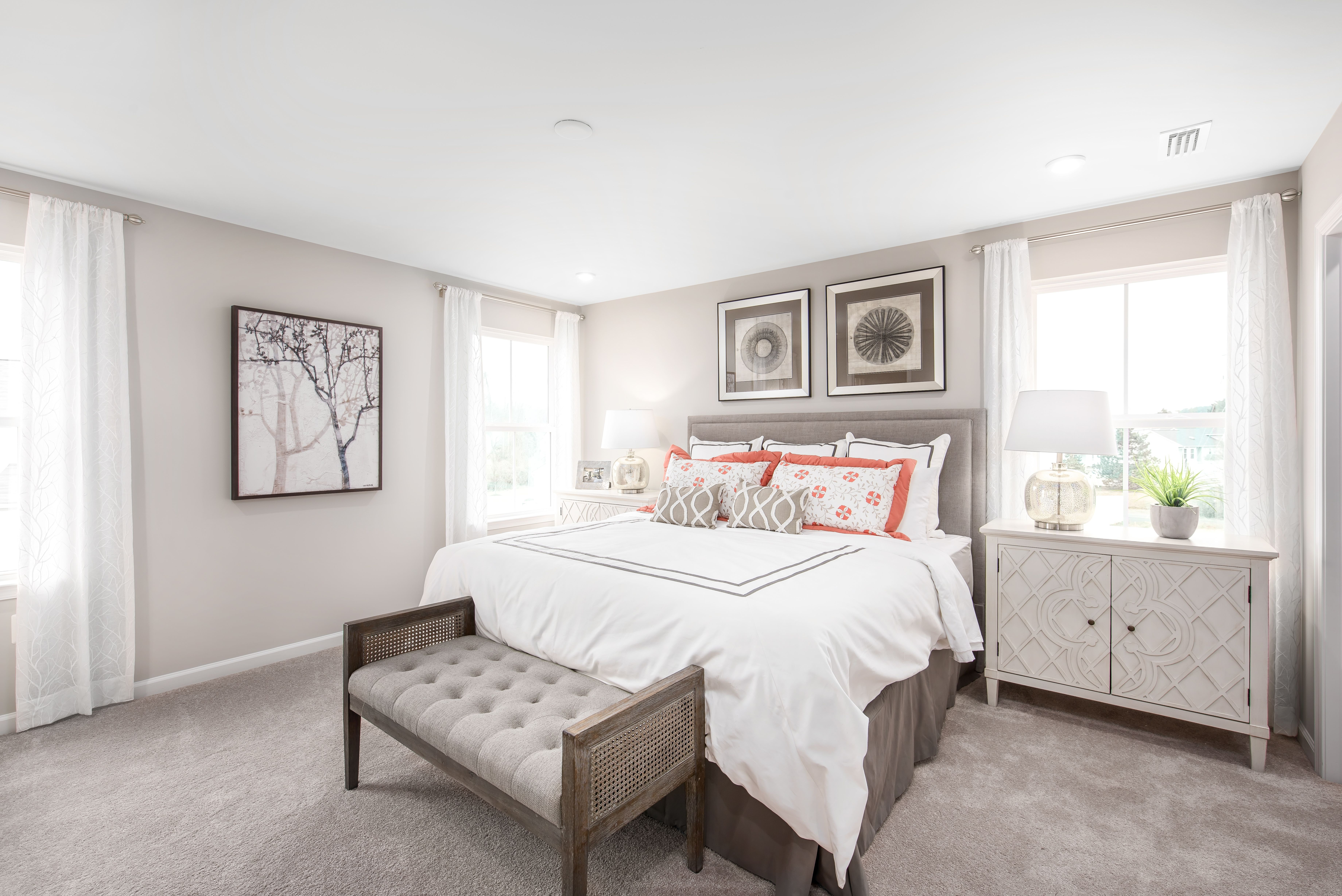 Bedroom featured in the Ballenger By Ryan Homes in Washington, MD