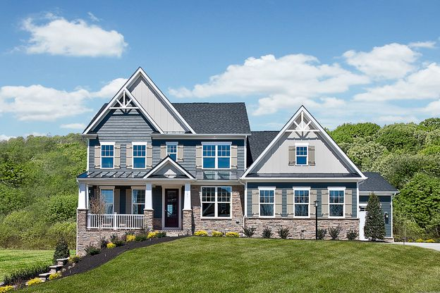 Impressive Curb Appeal:Large ½ acre wooded home sites with 3 car side entry garage, concrete driveways, and Brick or James Hardie HardiPlank® & Stone Exterior Combinations – All included!Click here to schedule your visit.