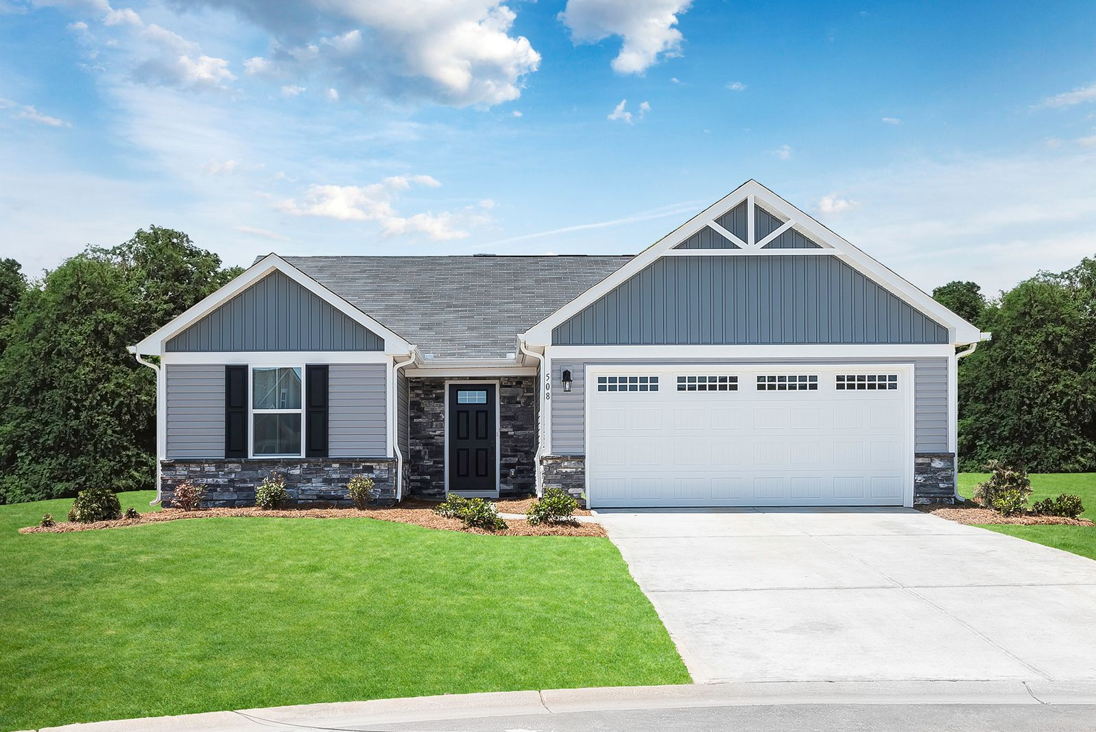 Exterior featured in the Bahama By Ryan Homes in Canton-Massillon, OH