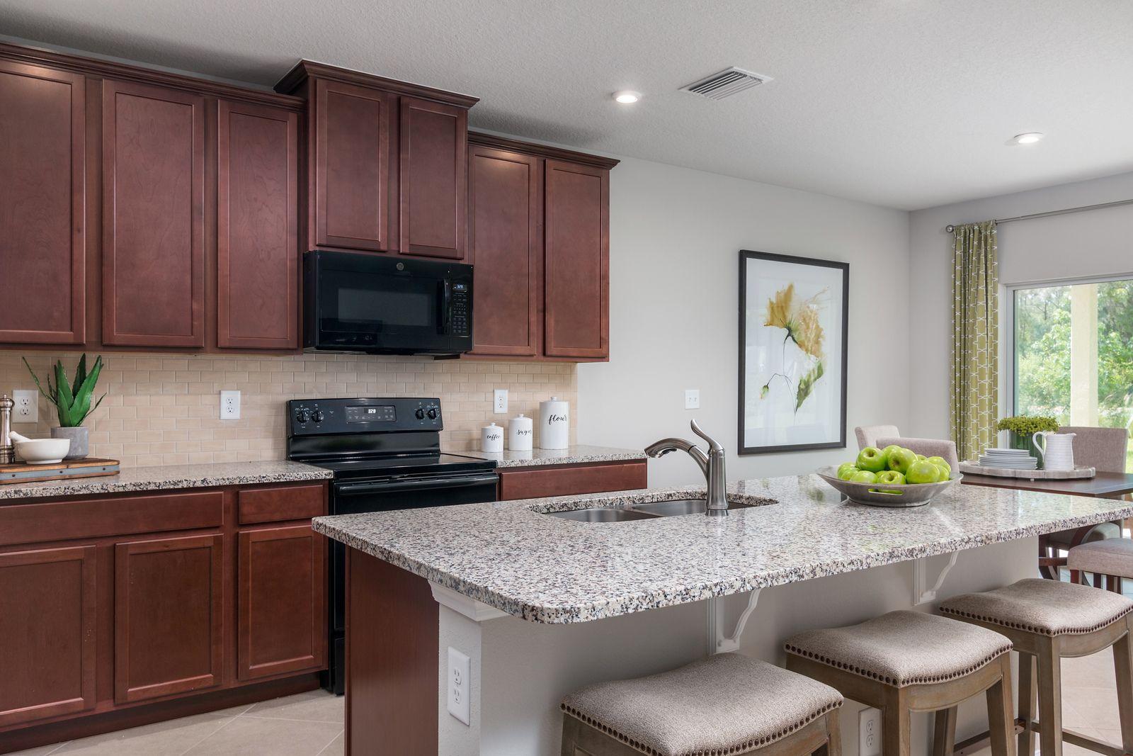 Kitchen featured in the Parkland By Ryan Homes in Orlando, FL