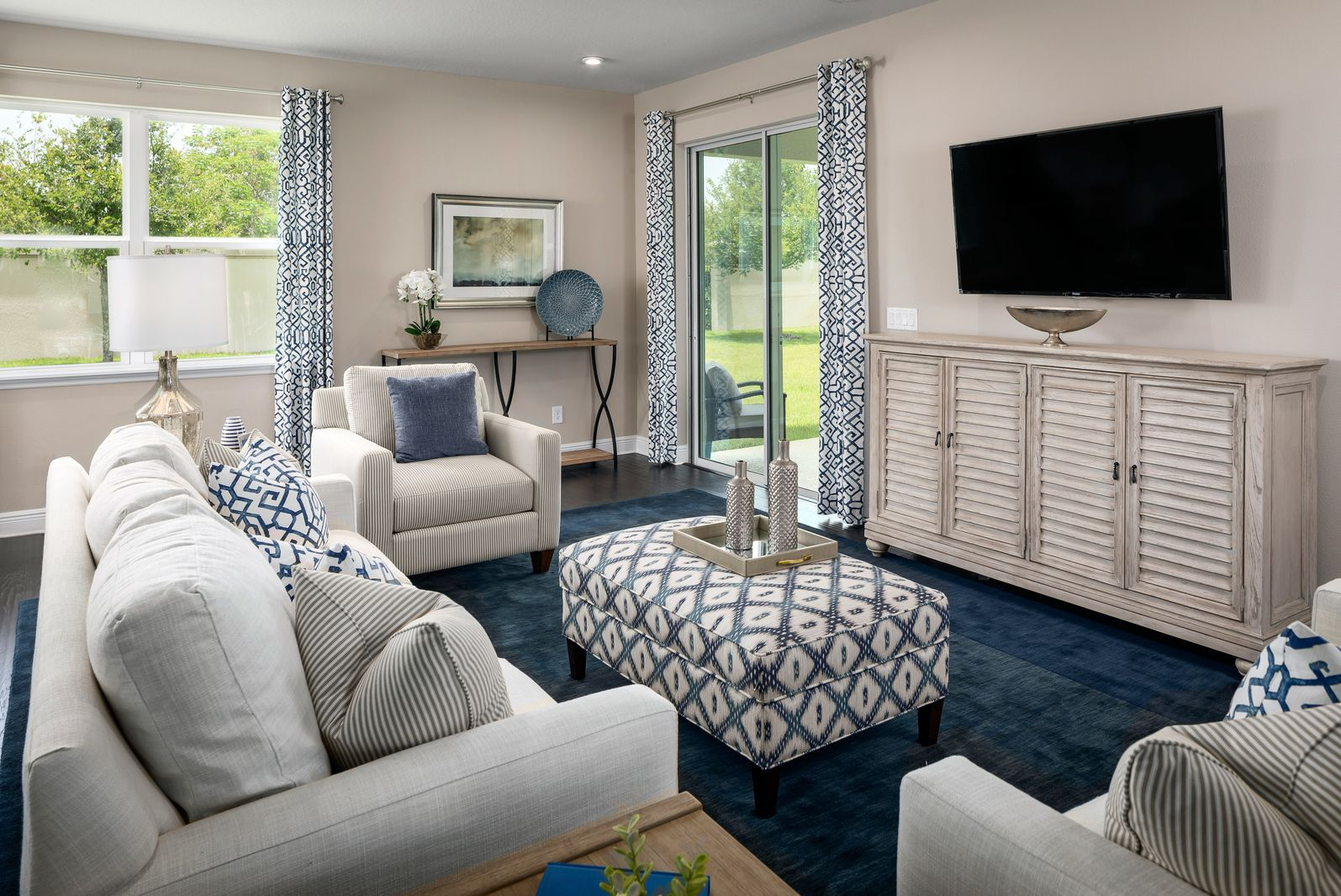 Living Area featured in the Estero Bay By Ryan Homes in Tampa-St. Petersburg, FL