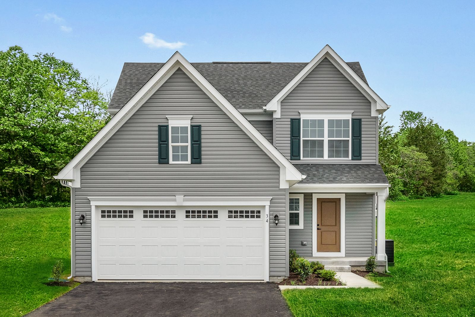 Exterior featured in the Adrian By Ryan Homes in Canton-Massillon, OH