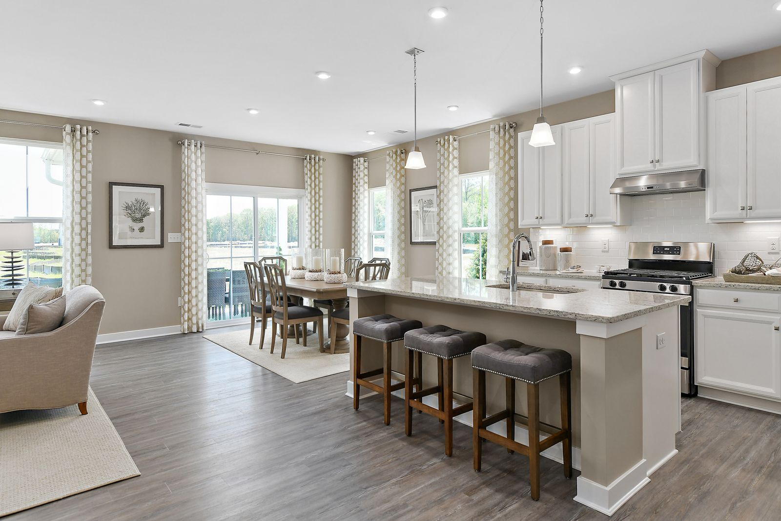Kitchen featured in the Ashbrooke By Ryan Homes in Washington, MD