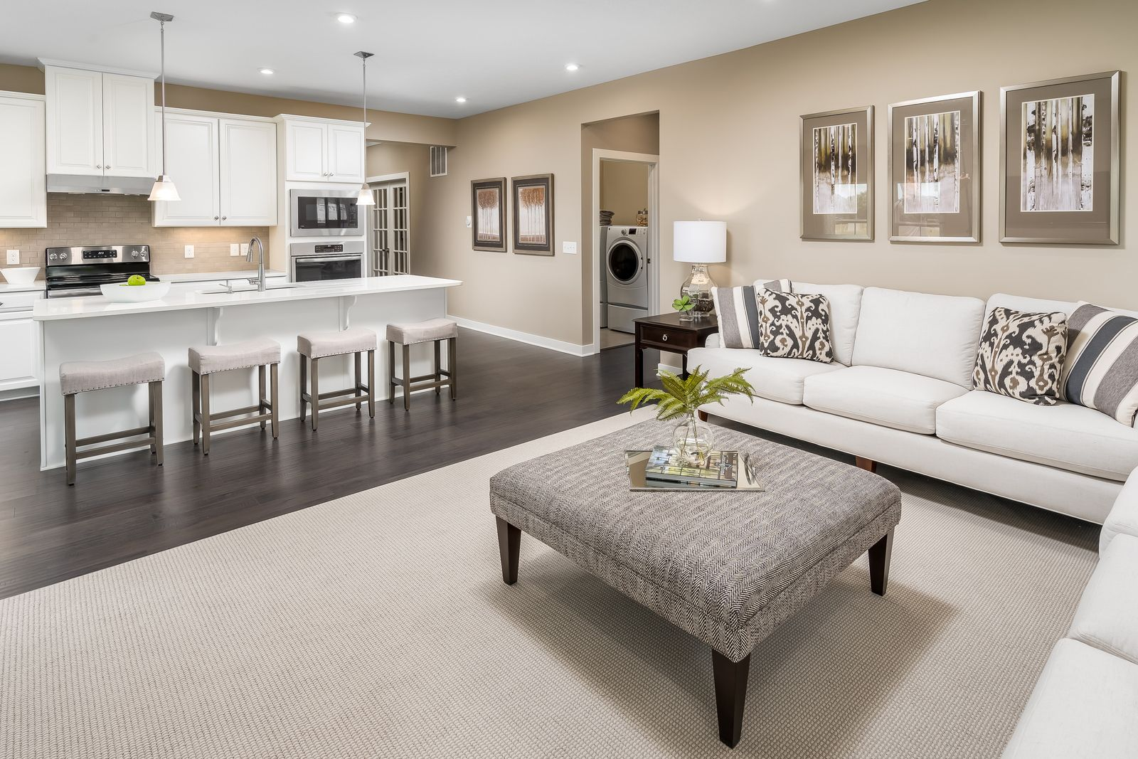Living Area featured in the Bramante 2 Story Slab - Basement Available By Ryan Homes in Chicago, IL
