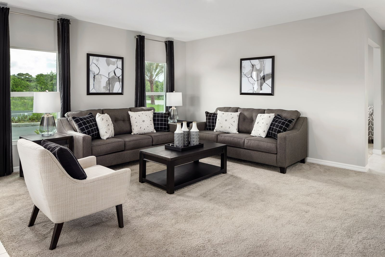 Living Area featured in the Key Largo By Ryan Homes in Martin-St. Lucie-Okeechobee Counties, FL