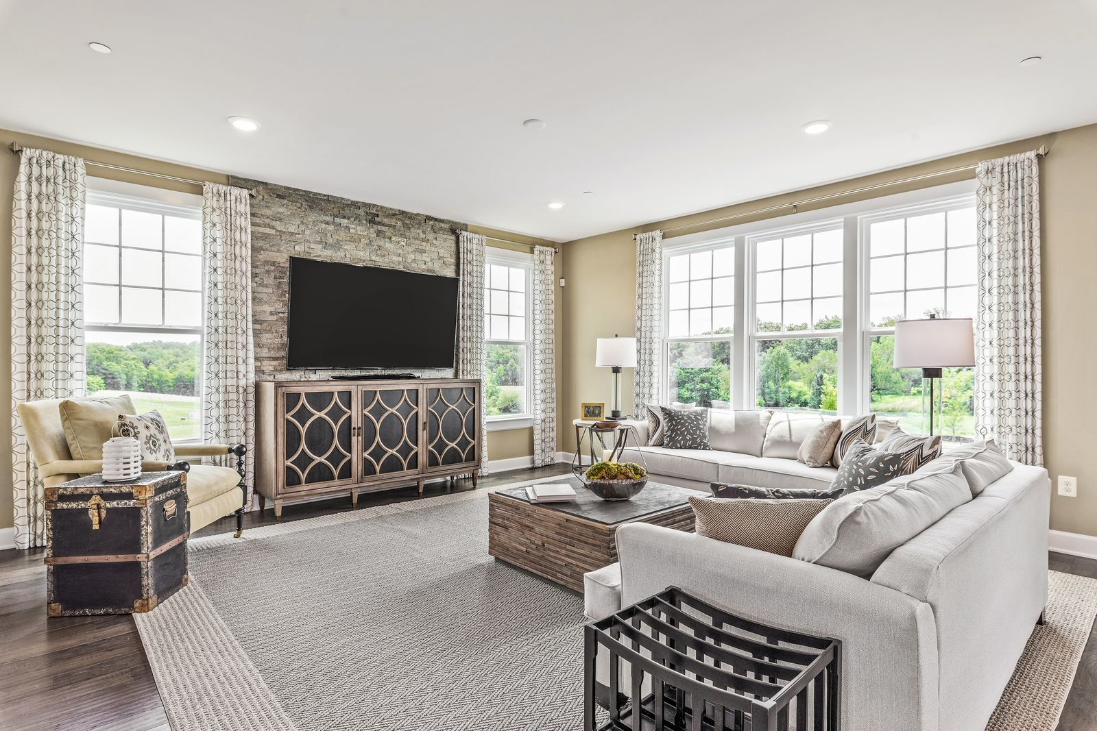 Living Area featured in the Marymount By NVHomes in Washington, VA