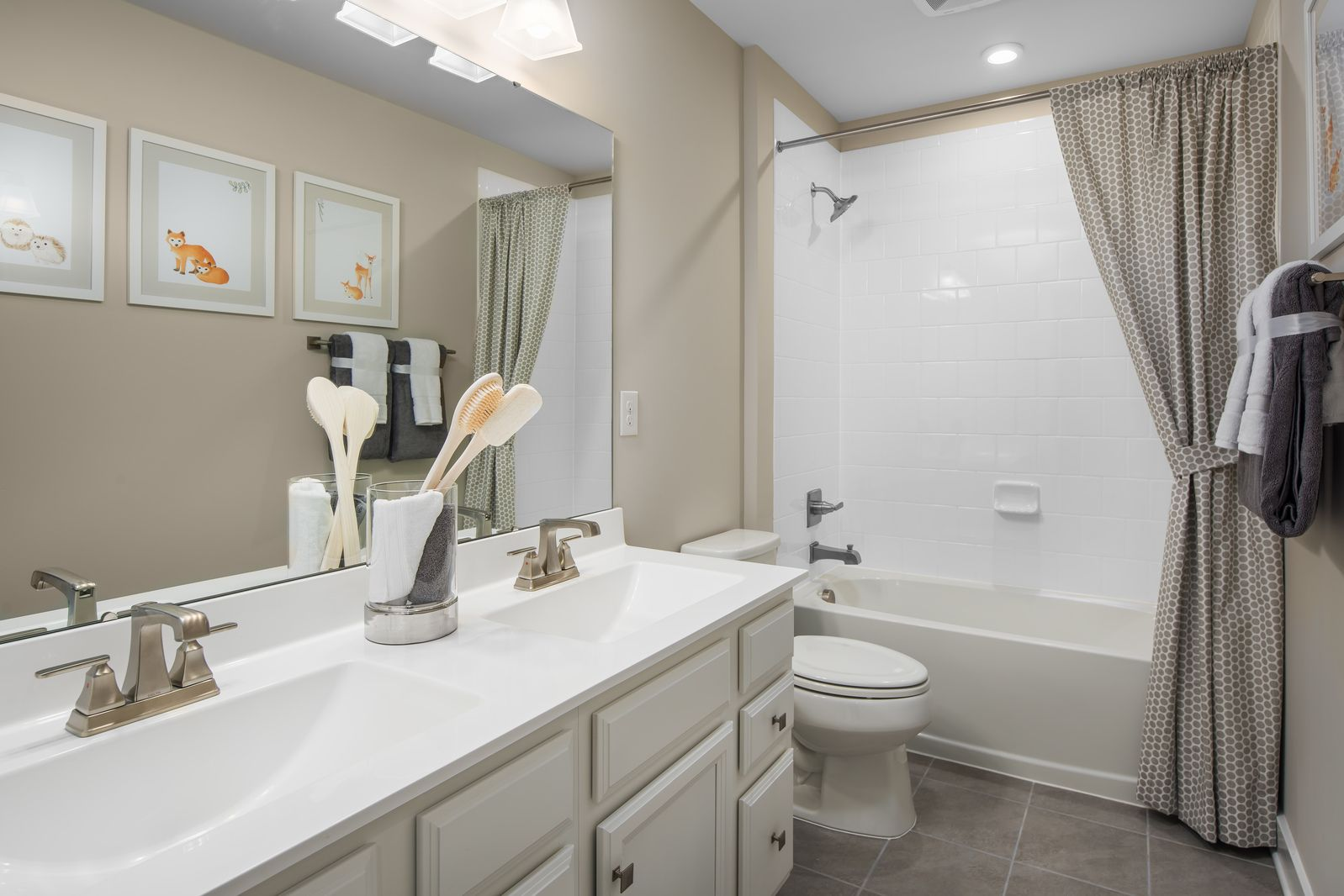 Bathroom featured in the Lehigh By Ryan Homes in Washington, MD