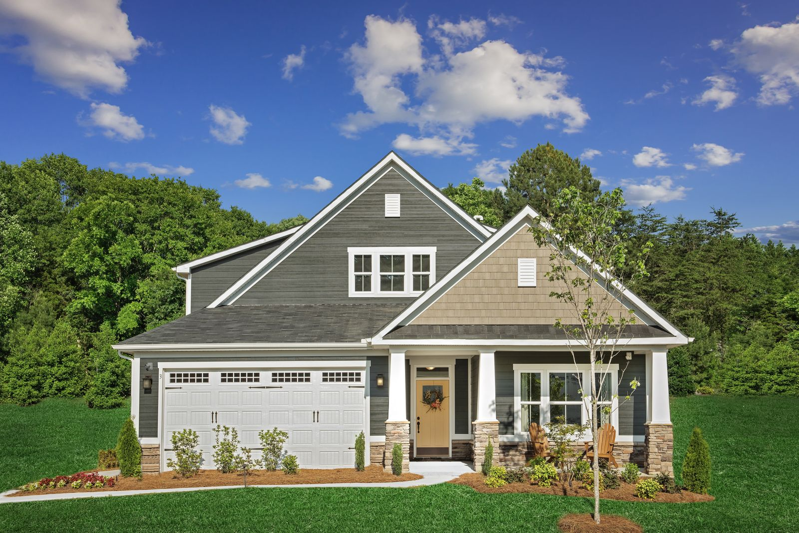 Exterior featured in the Palladio By Ryan Homes in Greenville-Spartanburg, SC