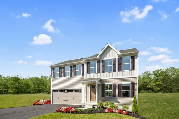 MOORE'S POINTE II SINGLE-FAMILY HOMES:Suffolk's lowest-priced homes w/ 2-car garages & large backyards. Brand new section with beautiful homesites!Click here to schedule a visit & receive a special incentive for booking online!