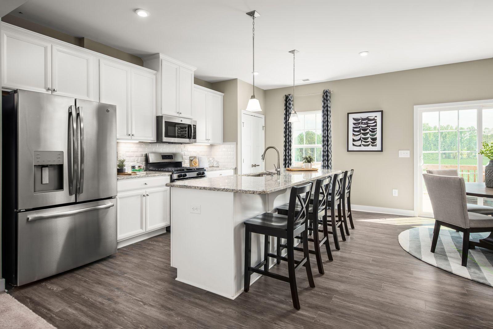 Kitchen featured in the Mendelssohn Front Entry Garage By Ryan Homes in Greenville-Spartanburg, SC