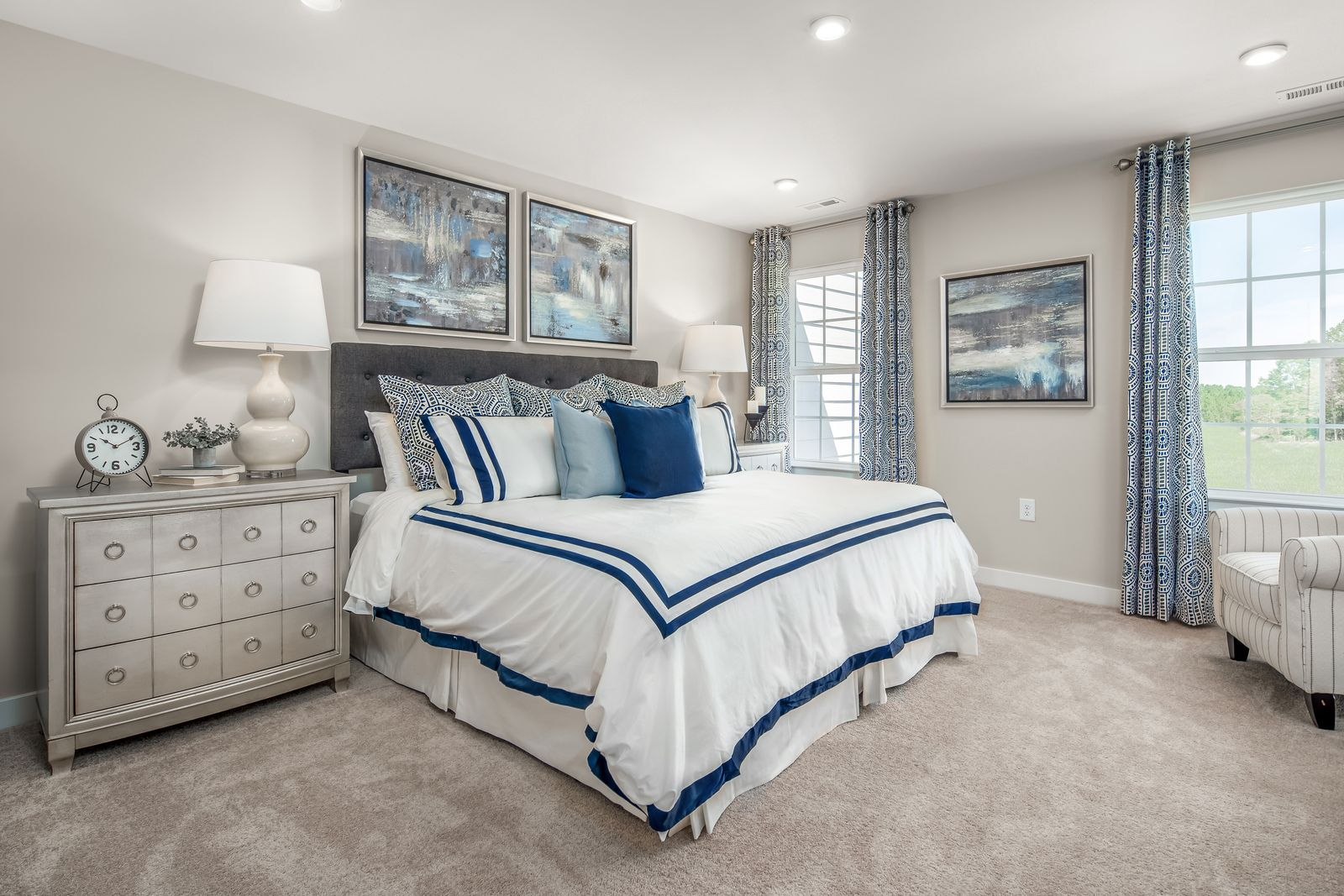 Bedroom featured in the Mendelssohn Front Entry Garage By Ryan Homes in Greenville-Spartanburg, SC