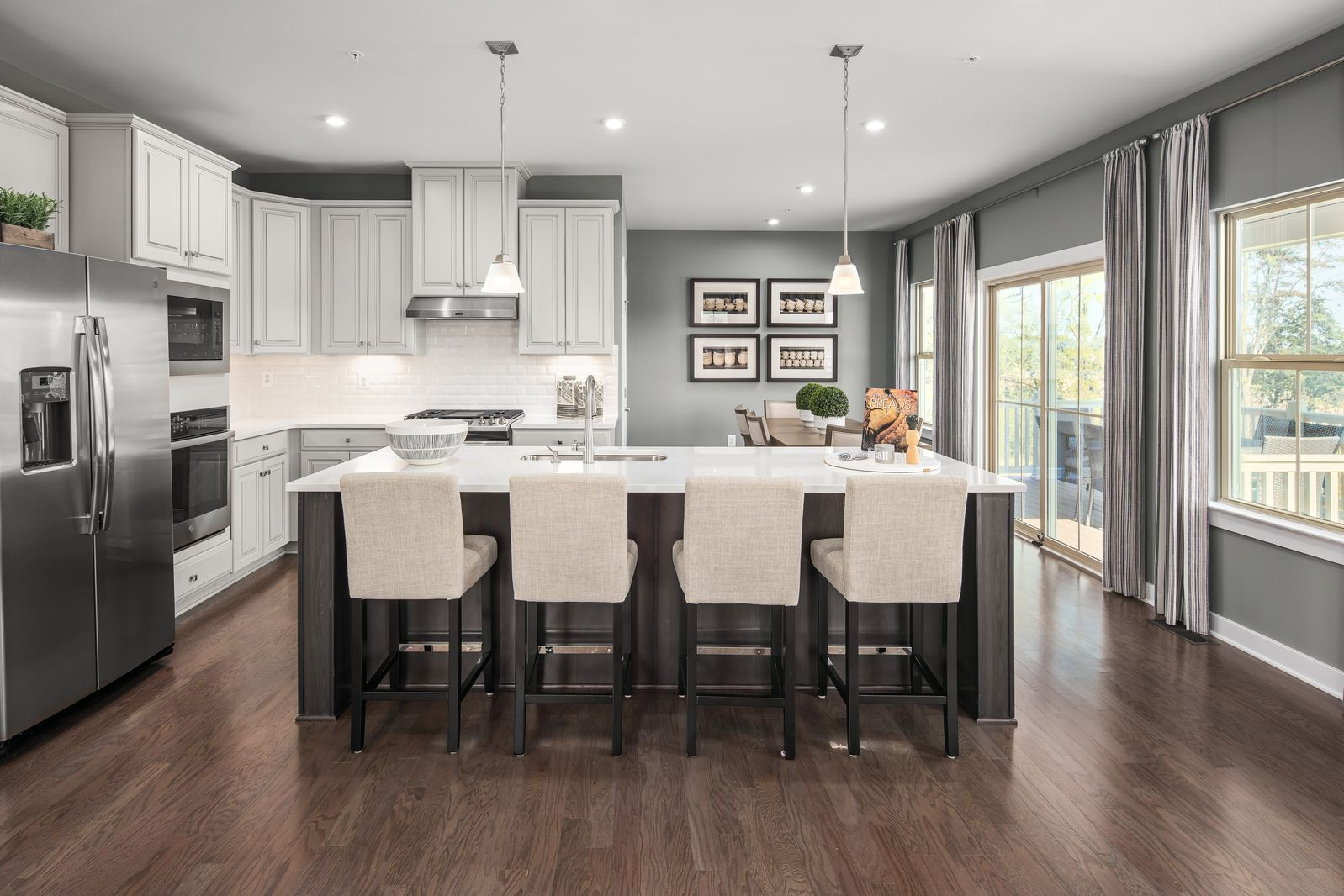Kitchen featured in the Roanoke By Ryan Homes in Washington, MD