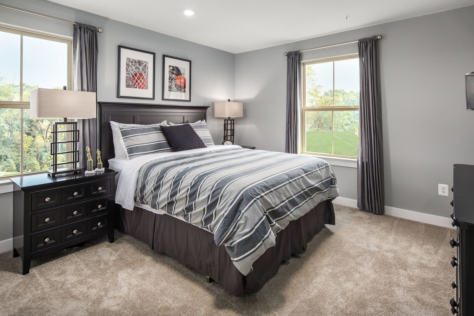 Bedroom featured in the Roanoke By Ryan Homes in Washington, MD