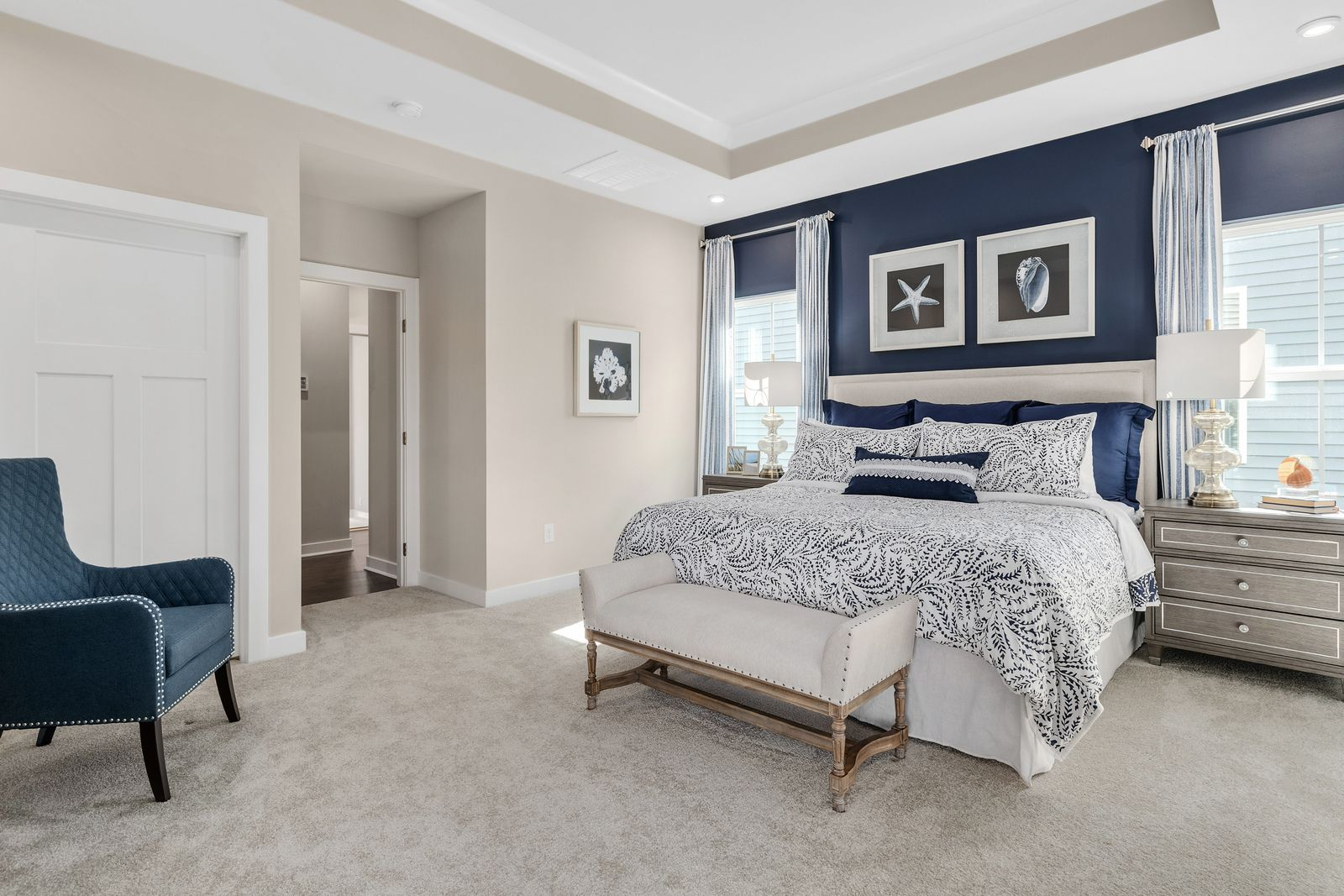 Bedroom featured in the Cumberland By Ryan Homes in Columbia, SC