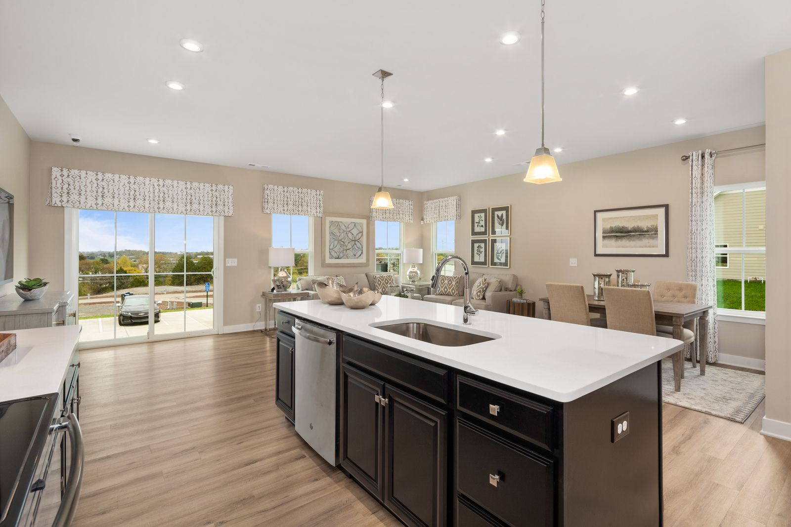 Kitchen featured in the Roxbury w/Extension & Finished basement By Ryan Homes in Akron, OH