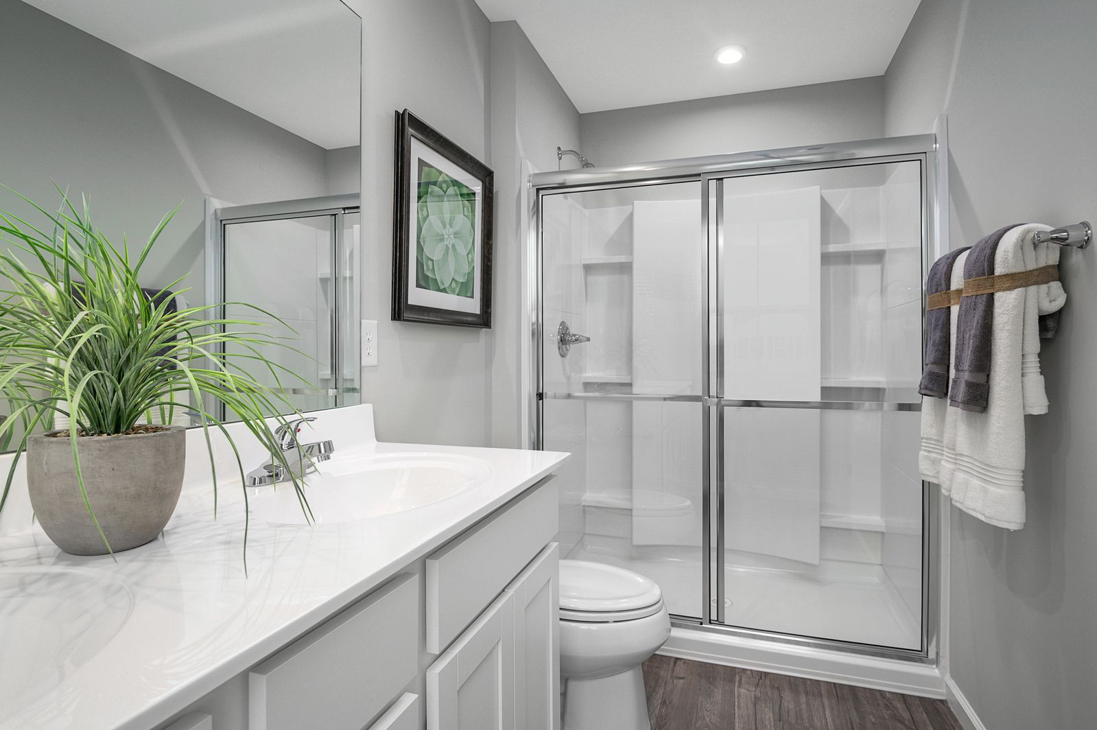Bathroom featured in the Cedar By Ryan Homes in Akron, OH