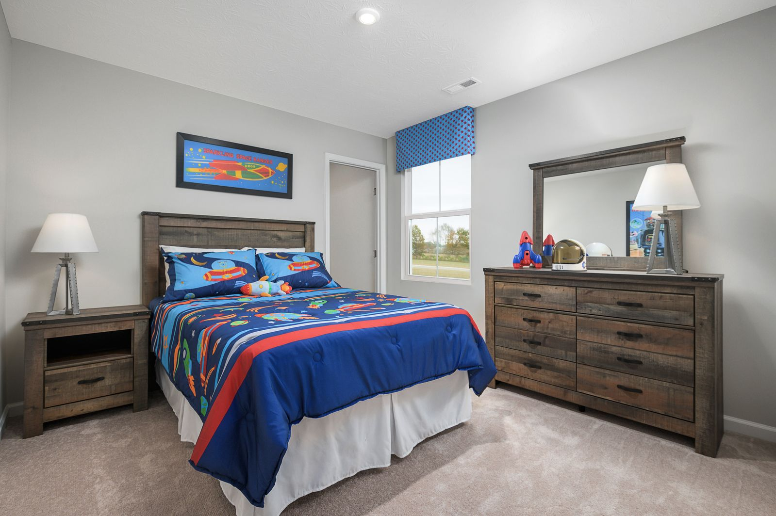 Bedroom featured in the Cedar By Ryan Homes in Akron, OH