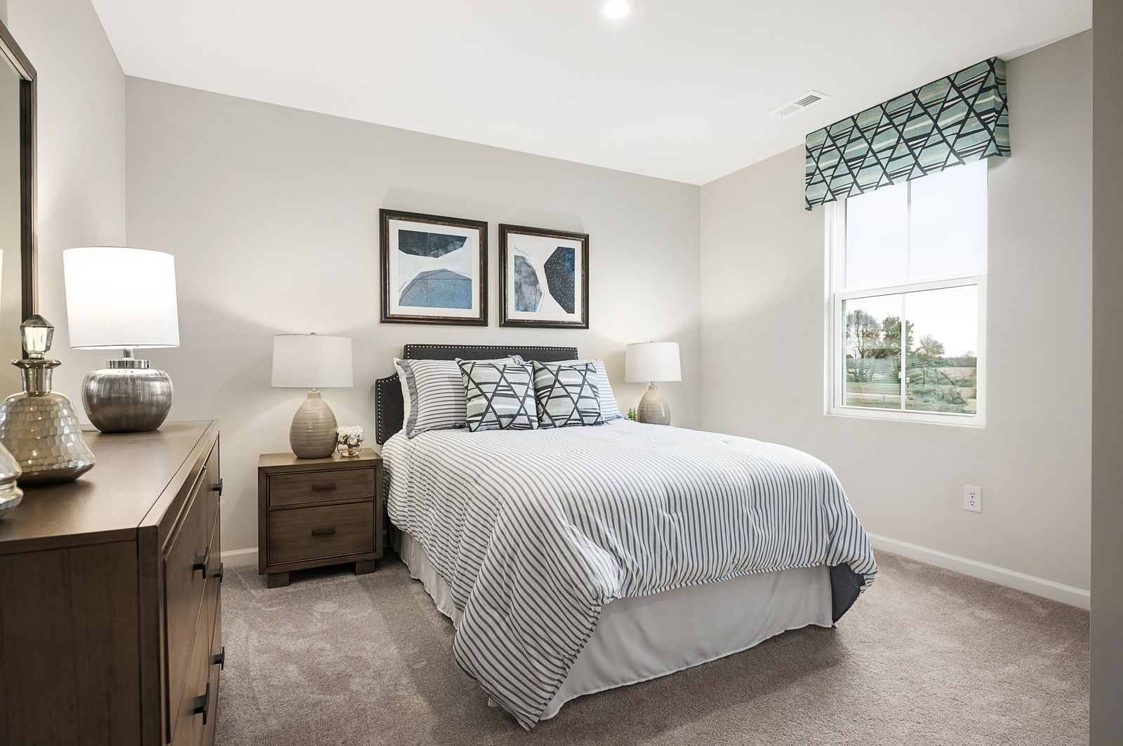 Bedroom featured in the Elm By Ryan Homes in Greenville-Spartanburg, SC