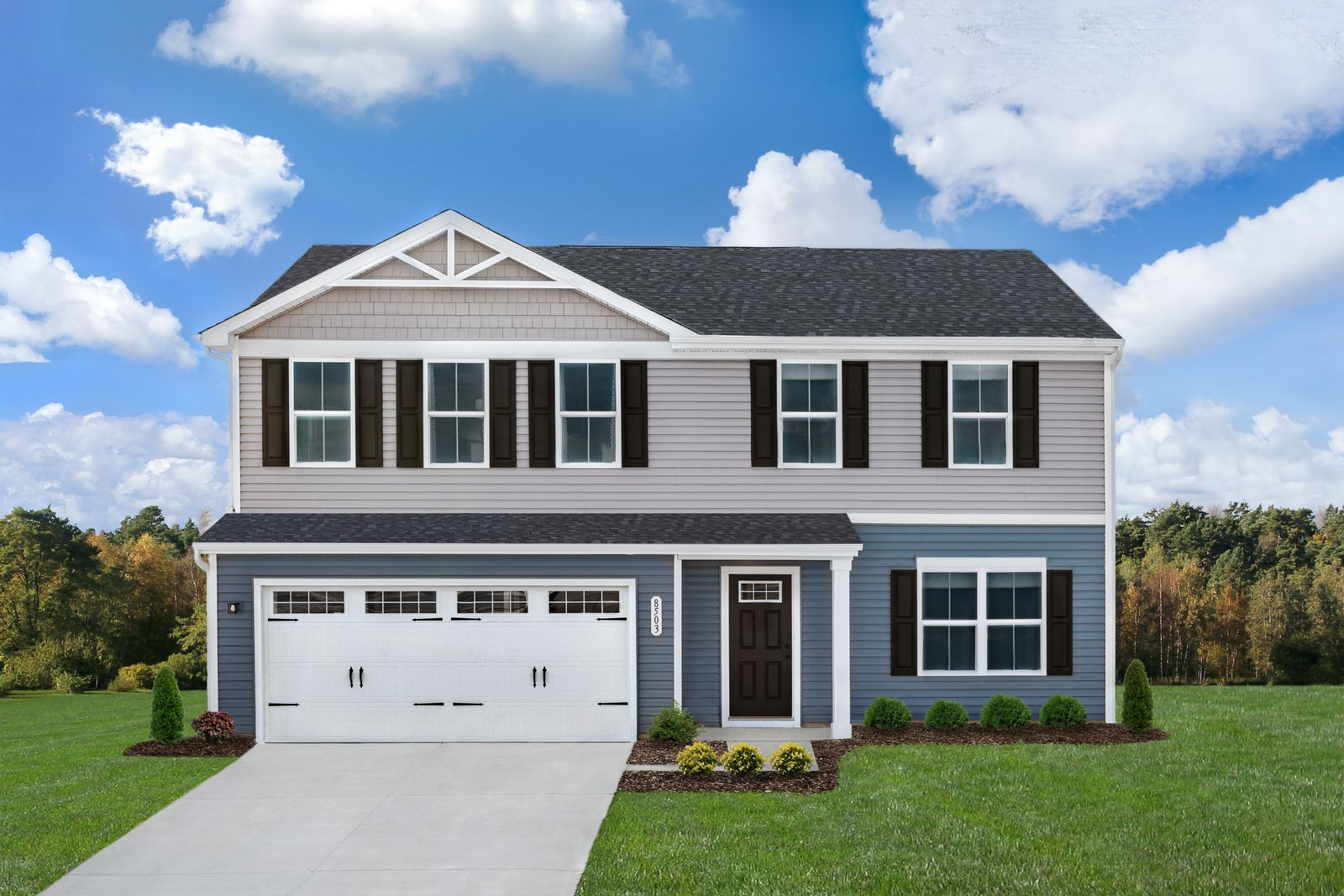 Exterior featured in the Cedar By Ryan Homes in Akron, OH