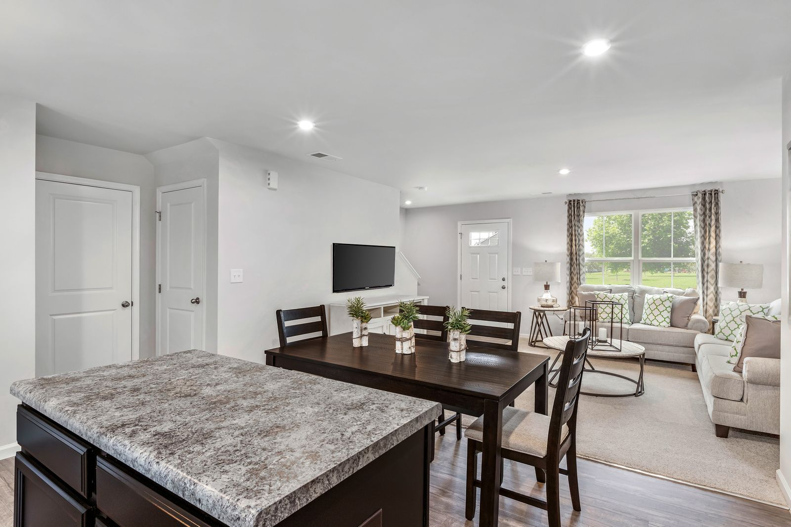Living Area featured in the Aspen By Ryan Homes in Greenville-Spartanburg, SC
