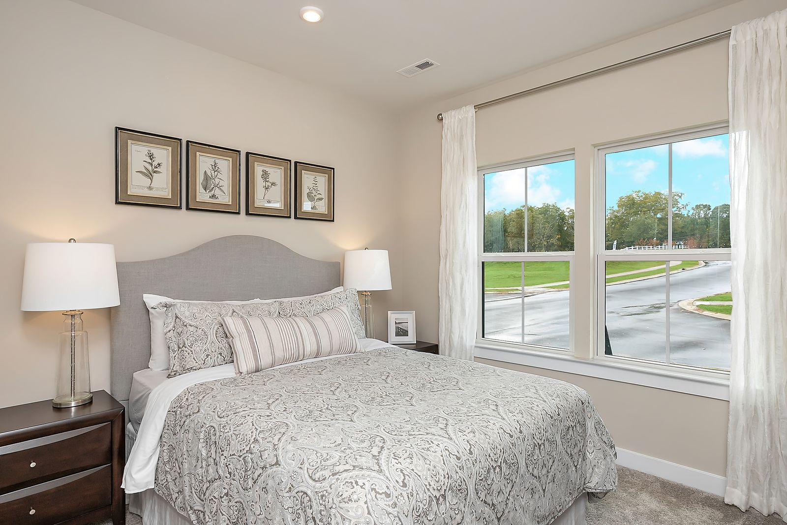 Bedroom featured in the Bramante Ranch with Full Basement By Ryan Homes in Chicago, IL