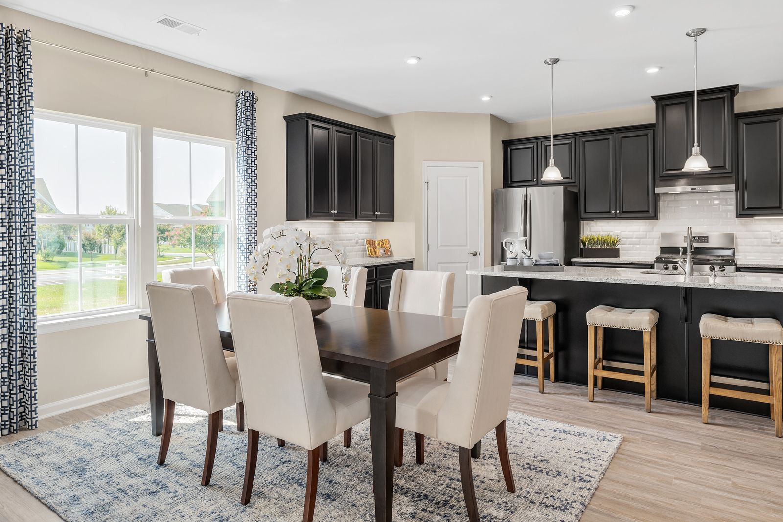 Kitchen featured in the Palladio Ranch Slab - Basement Available By Ryan Homes in Chicago, IL