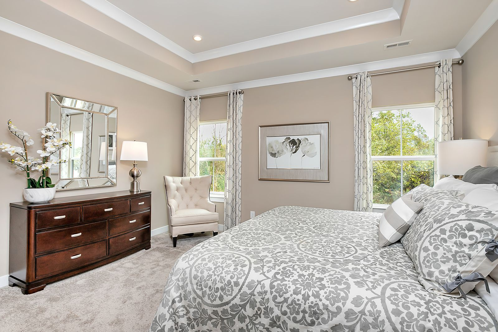 Bedroom featured in the Bramante 2 Story Slab - Basement Available By Ryan Homes in Chicago, IL