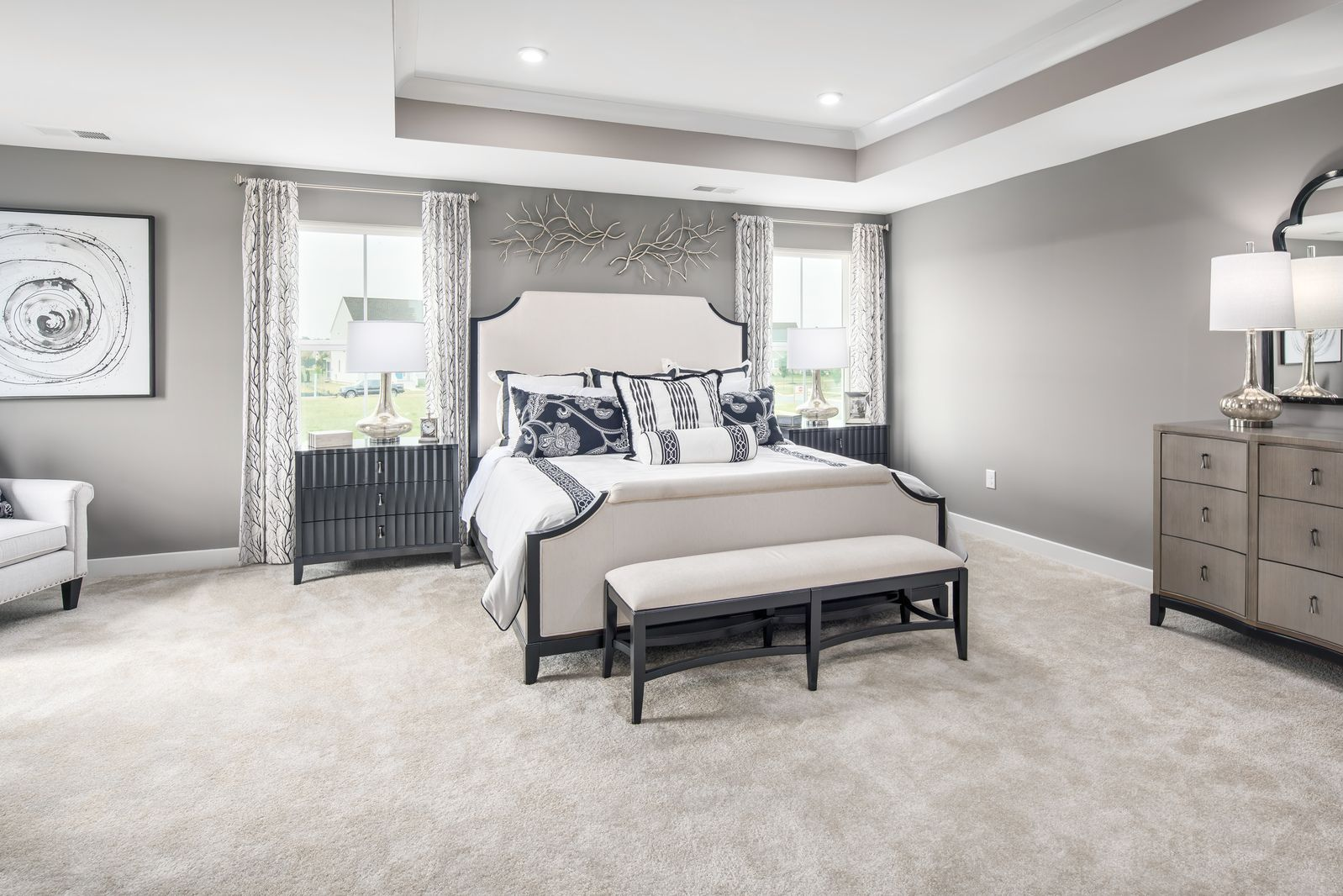 Bedroom featured in the Versailles By Ryan Homes in Washington, MD