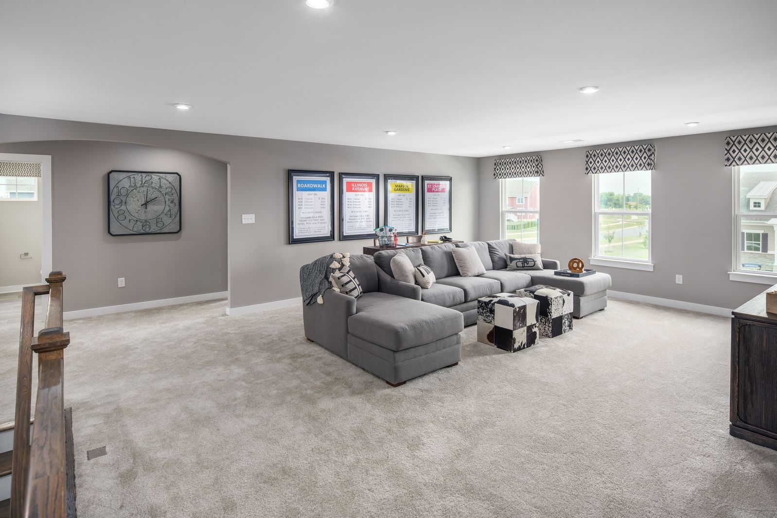 Living Area featured in the Versailles By Ryan Homes in Washington, MD