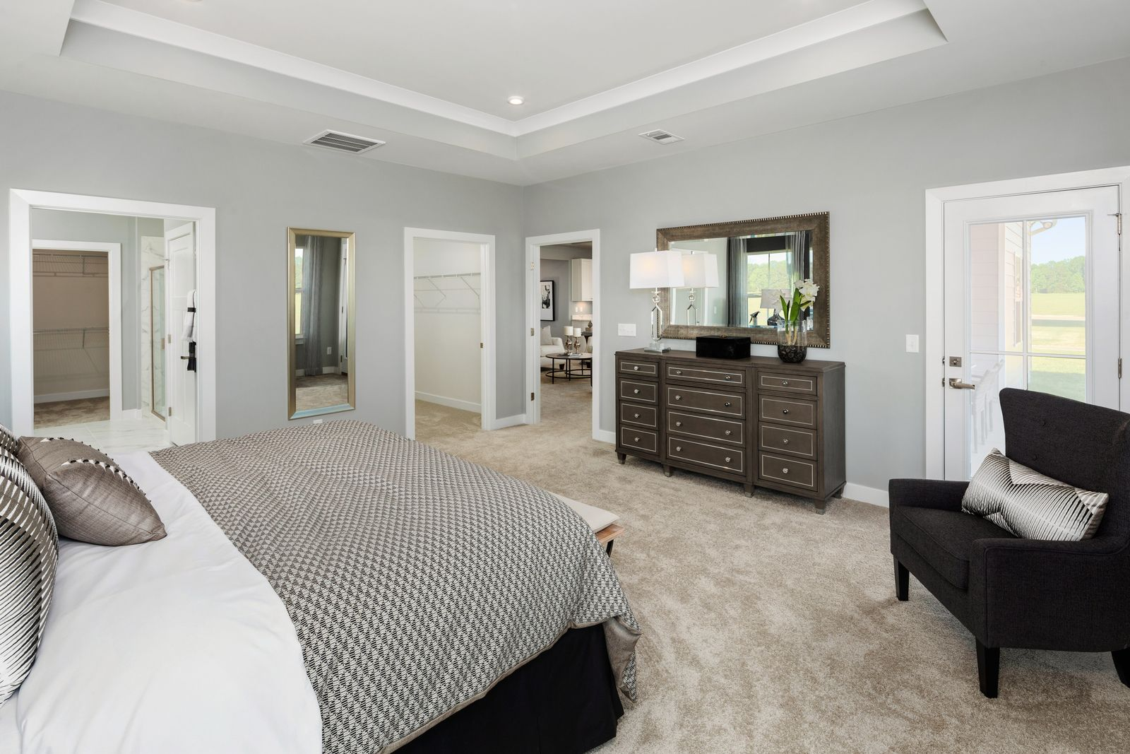 Bedroom featured in the Savannah By Ryan Homes in Washington, MD