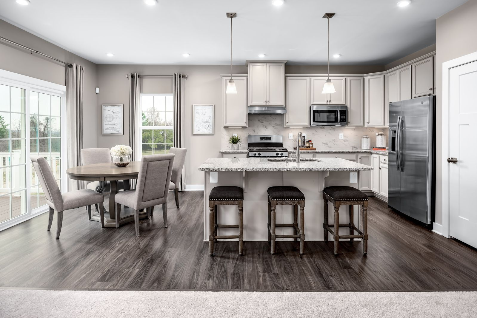 Kitchen featured in the Alberti Ranch with Full Basement By Ryan Homes in Chicago, IL