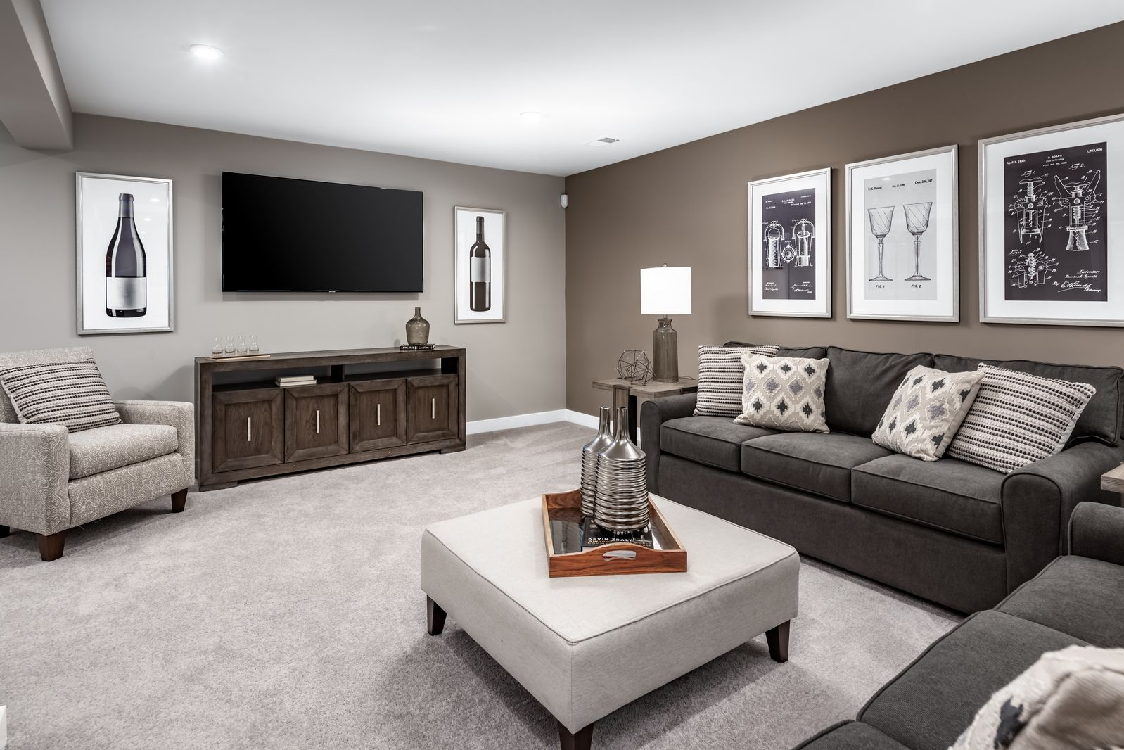Living Area featured in the Alberti Ranch By Ryan Homes in Chicago, IL