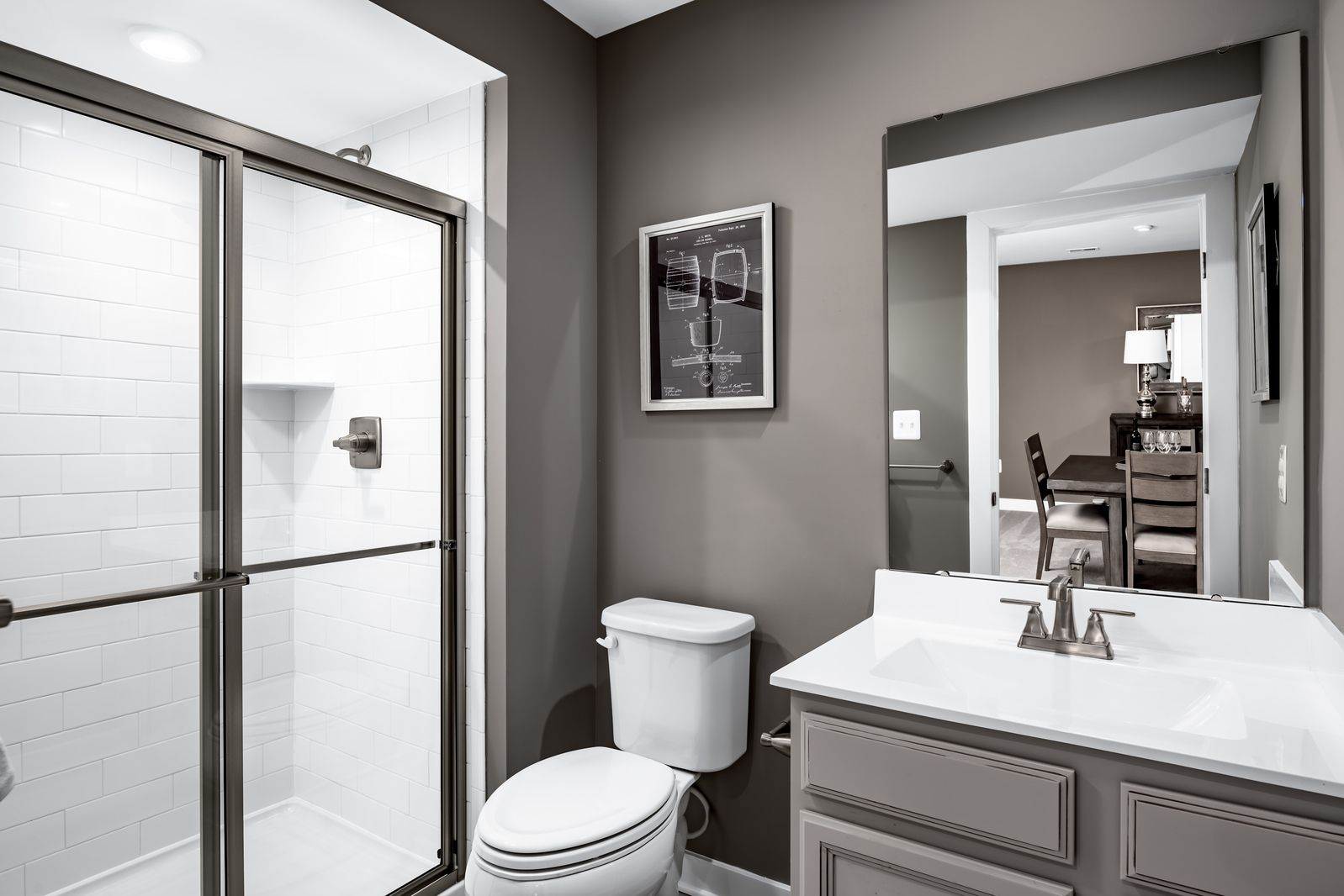 Bathroom featured in the Alberti Ranch Slab -  Basement Available By Ryan Homes in Chicago, IL