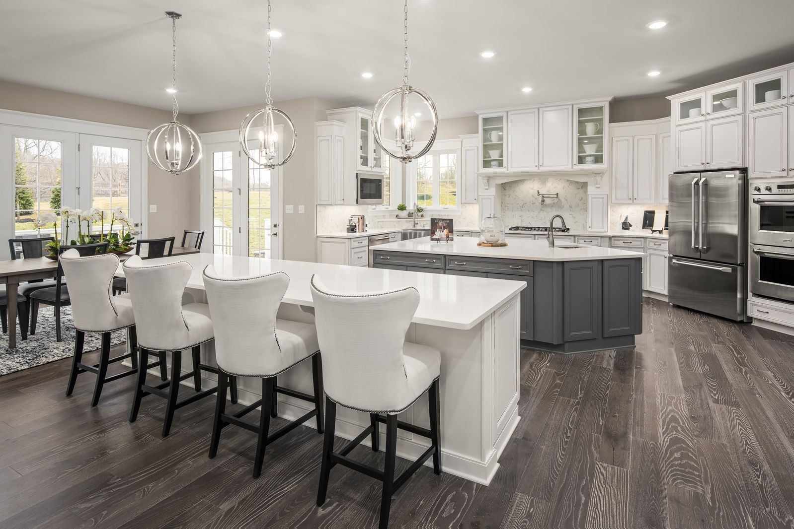 Kitchen featured in the Clifton Park II By NVHomes in Washington, VA