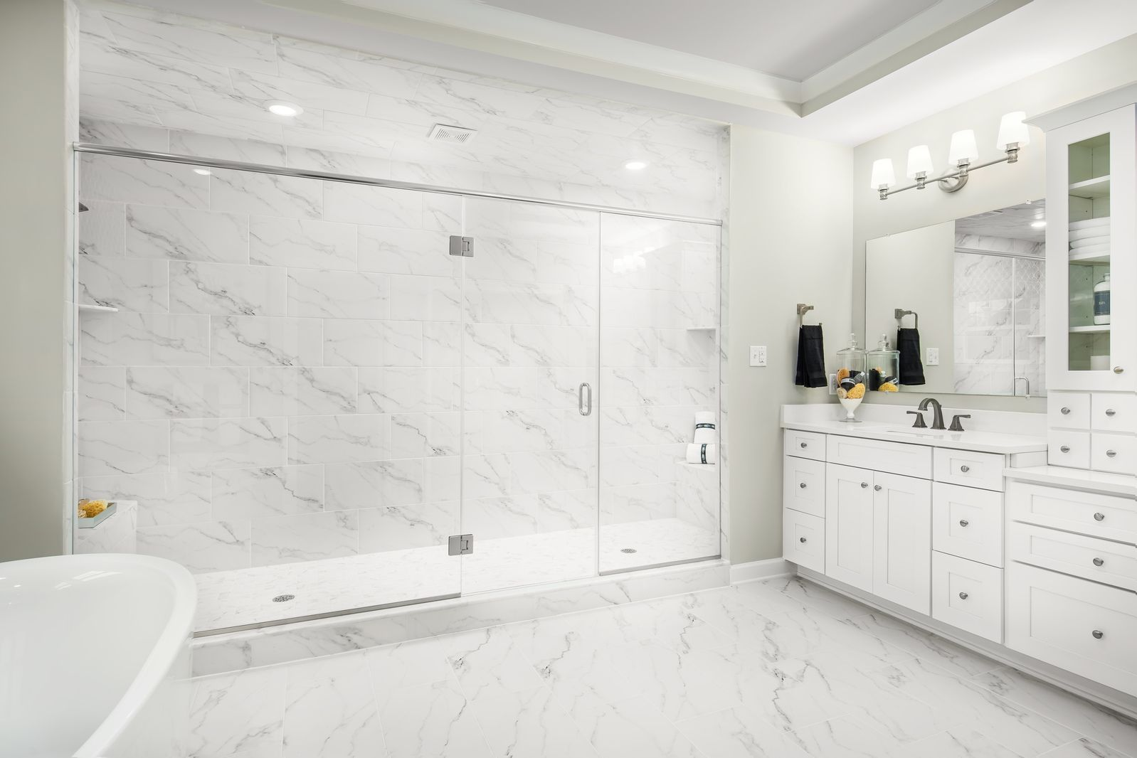 Bathroom featured in the Clifton Park II By NVHomes in Washington, VA
